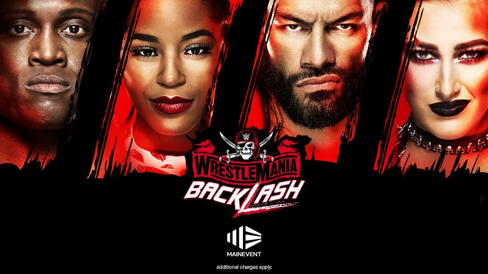 WWE WrestleMania Backlash - $24.95