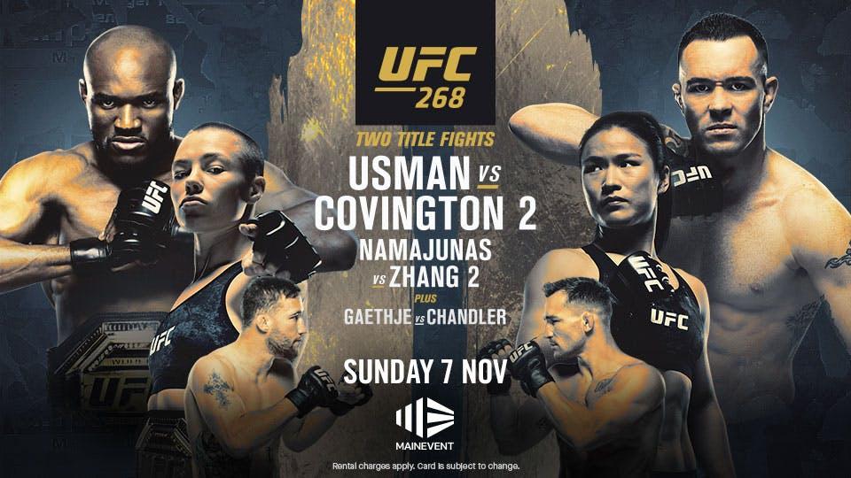 UFC 268 Usman v Covington 2 - $54.95